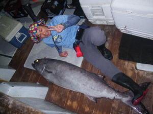 深海夜釣(23日) -