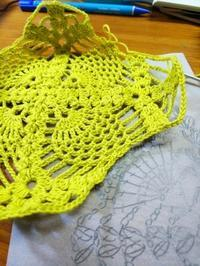 スクエアのモチーフを製作中。 - Crochet Atelier momhands