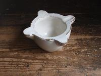 白釉薬 すり鉢  モルテロ   / F671 - Glicinia 古道具店