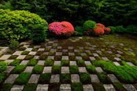 サツキ彩る重森三玲の庭・その1(東福寺方丈庭園) - 花景色-K.W.C. PhotoBlog