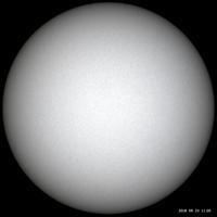 9月23日の太陽 - お手軽天体写真