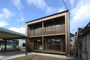 Q1住宅能代住吉町:内覧会終了 - 家づくり西方設計