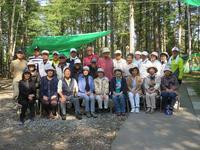 小樽自然の村でのジンギスカン - りんごの心