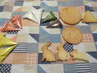 アイシングクッキー初体験(十五夜バージョン) - がちゃぴん秀子の日記