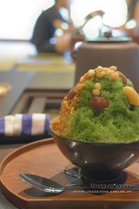7月のカフェ活⑤**かき氷にハマった夏 - きまぐれ*風音・・kanon・・