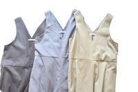 2WAYサロペットのダークグレー色を作りました♫ - 親子お揃いコーデ服omusubi-five(オムスビファイブ)
