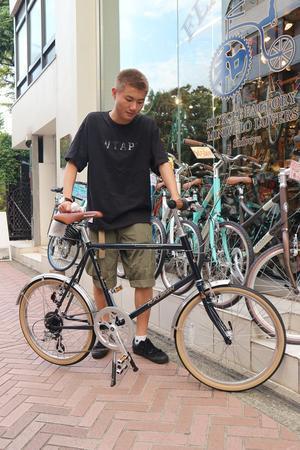 9月24日 渋谷 原宿 の自転車屋 FLAME bike前です - かずりんブログ