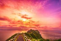 神威岬(再現像) - 風景とマラソンと読書について語るときに僕の撮ること