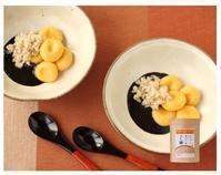 中秋の名月『黒ごまソースのお月見白玉団子』雑穀レシピ - 体にやさしい雑穀Life色々・・・