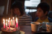 ばぁばの誕生日パーティ - BobのCamera