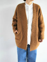 unfilstrech superkid mohair cardigan - 『Bumpkins putting on airs』