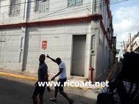 ダウンタウンの壁画プロジェクト - ジャマイカブログ Ricoのスケッチ・ダイアリ