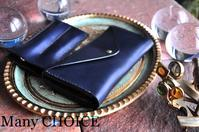 イタリアンレザー・エルバマット・長財布2と2本差しペンケース・時を刻む革小物Many CHOICE - 時を刻む革小物 Many CHOICE~ 使い手と共に生きるタンニン鞣しの革