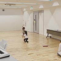 まるでコンテンポラリーダンサー! - 鷺沼・たまプラーザ0歳からの音楽教室「ハッピーリズム」