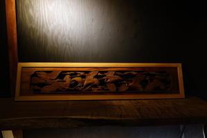 彫刻欄間 -