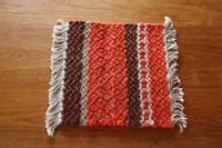 サルビア しぜんの色いろ展 手織りマット - 雑貨屋regaブログ