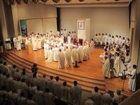 さいたま司教様叙階式☆ - 愛・喜び・平和~今日、この日に感謝をこめて~
