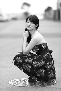 夏目和ちゃん53 - モノクロポートレート写真館