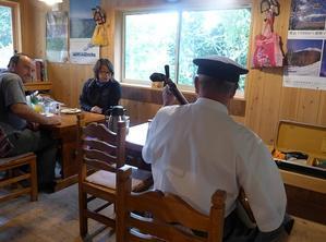 9月25日「夕刊」雨の中、2名さま。。 - 開田のポッポ屋