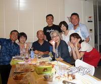 友人たちと横浜のMちゃん家で(9/23) - べルリンでさーて何を食おうかな?