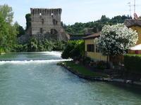 橋と河口堰 (Borghetto) - エミリアからの便り