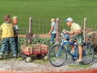 BOYSLIFEその⑥トラクター、自転車 - マルタカヤ模型
