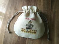 クロスステッチの巾着袋・3種類 - CROSS SKETCH