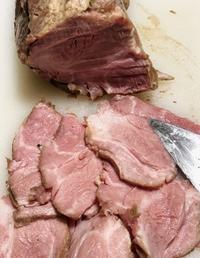 低温調理の豚肉 - お茶の水調理研究所