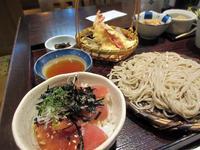 【いろはな】いつもの天ぷらと蕎麦とマグロ小丼 - お散歩アルバム・・冬本番