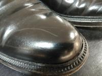 コードバンの傷を隠す - 池袋西武5F靴磨き・シューリペア工房