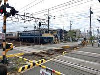国鉄色のEF65に牽引される小田急ロマンスカ30000形EXE! - 子どもと暮らしと鉄道と