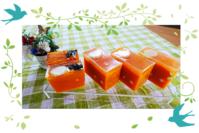 オレンジの二層石けん - tecoloてころのブログ