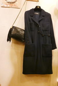 Chanelwool onepiece - carboots