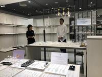 神戸大丸「なごり月 gla_gla + usapi」始まりました。@ 神戸大丸 7階 メゾンプリュスレコメンド - glass cafe gla_glaのグダグダな日々。