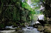黄牛の滝 - A  B  C