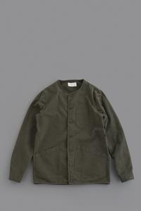KESTIN HARE Neist Overshirt (Dark Olive) - un.regard.moderne