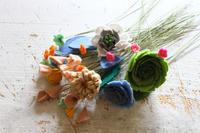 作品サンプルで何を作りましょ - フェルタート(R)・オフフープ(R)立体刺繍作家PieniSieniのブログ
