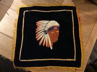 "~50's ""Native American"" pillow case - BUTTON UP clothing"