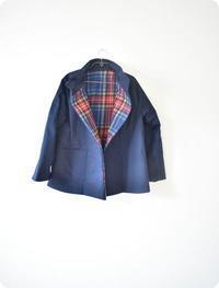 今日は、とても寒い一日です。。コートを作り始めました♥ - 親子お揃いコーデ服omusubi-five(オムスビファイブ)