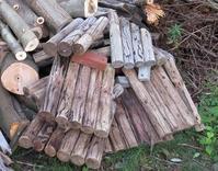 薪づくり・・いただいた廃材処理・・。 - あいやばばライフ