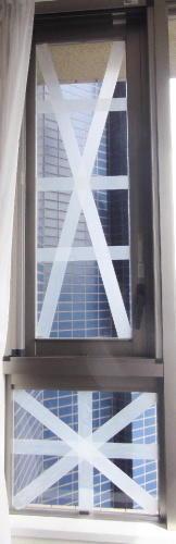 台風窓ガラス対策 - ARTY NOEL