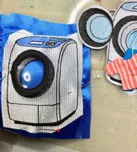 新型刺繍洗濯機 - ソライロ刺繍