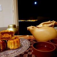 中秋の名月のお茶♪ - アンティークな小物たち ~My Precious Antiques~