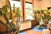花と器のハーモニー@山手西洋館 - 僕の足跡