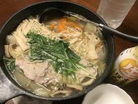 今日もダイエット鍋 (^_-)-☆ - よく飲むオバチャン☆本日のメニュー