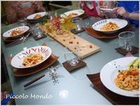 9月のPasta Classは・・・♪ - Romy's Mondo ~料理教室主宰Romyの世界~