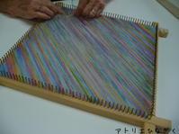 マーガレット織り、つづれ織り - アトリエひなぎく 手織り日記