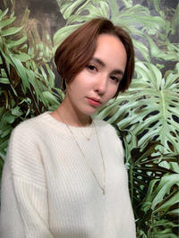 前髪長めのショートボブ - COTTON STYLE CAFE 浦和の美容室コットンブログ