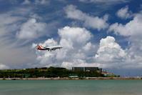 アシアナ航空 A321 いつものアプローチ - 南の島の飛行機日記