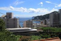 熱い夏 - 新幹線の写真